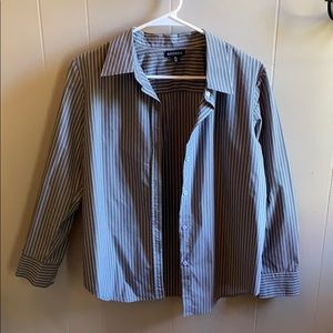 George grey button down